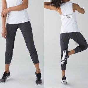 Lululemon Pace Rival Crop Heather Angel Wing